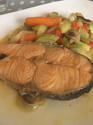la cocina de casi salmon