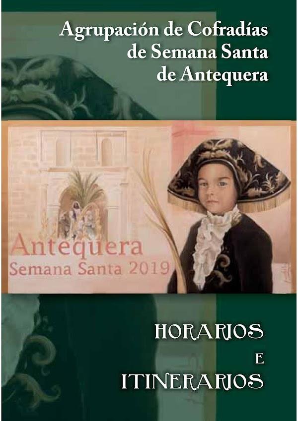 Programa, Horarios e itinerarios Semana Santa Antequera (Málaga) 2019