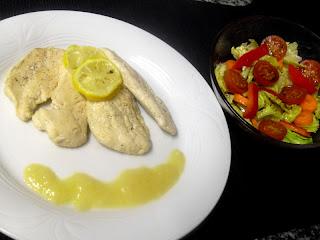 Receta de pechugas de pollo al limón de Tobias Cook.