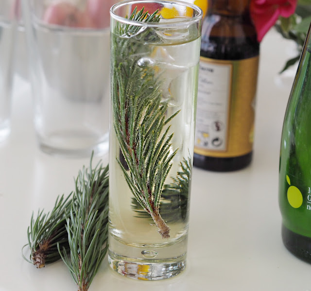 pine needle cocktail