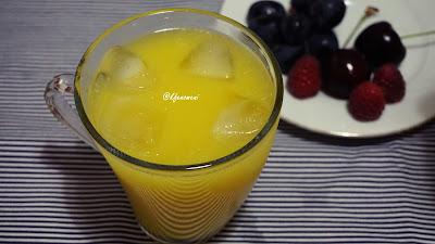 doğal ev yapımı limonata
