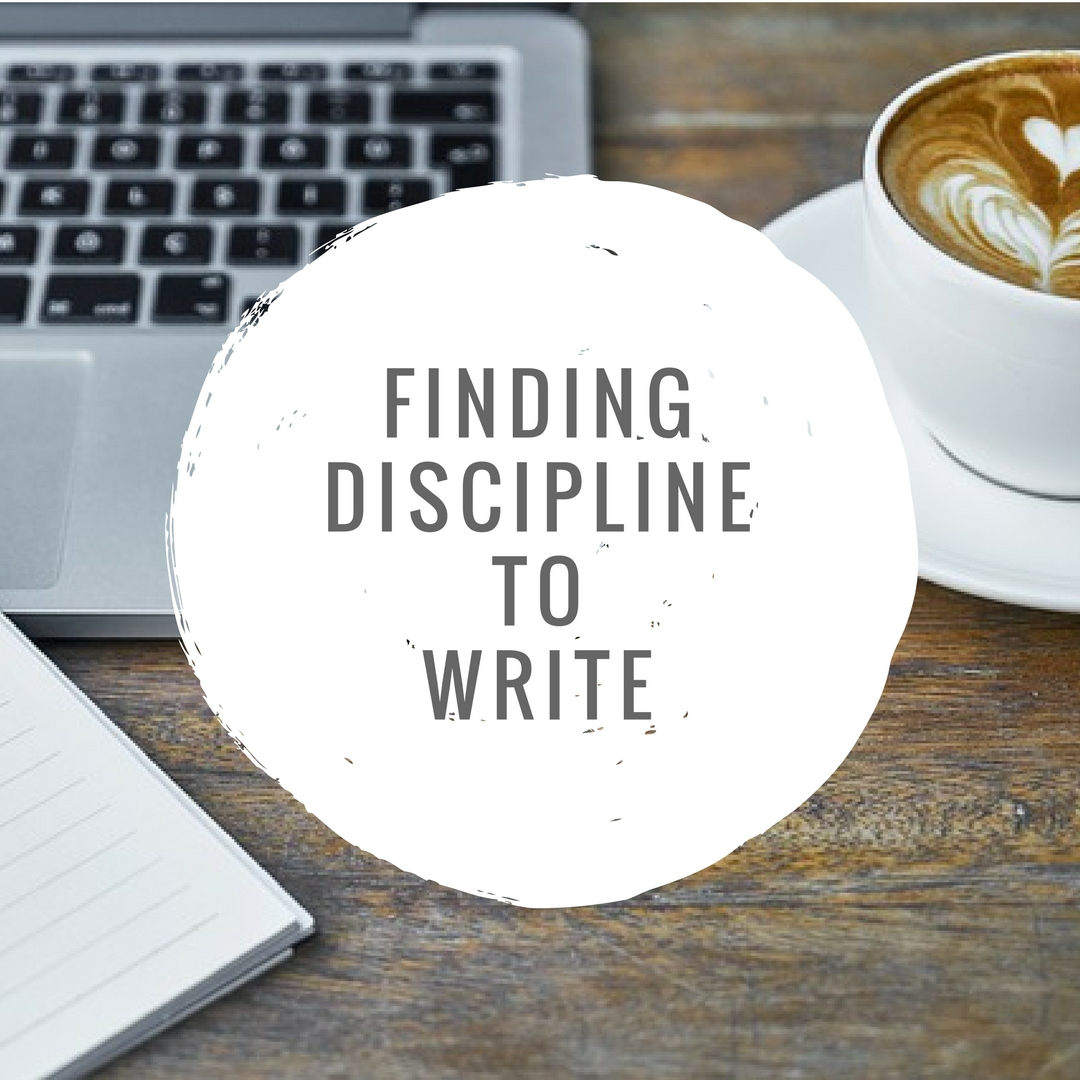 Finding Discipline to Write