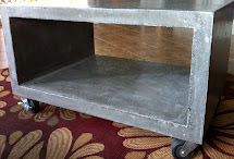 Mode Concrete Heavy Boy Coffee Table - Modern