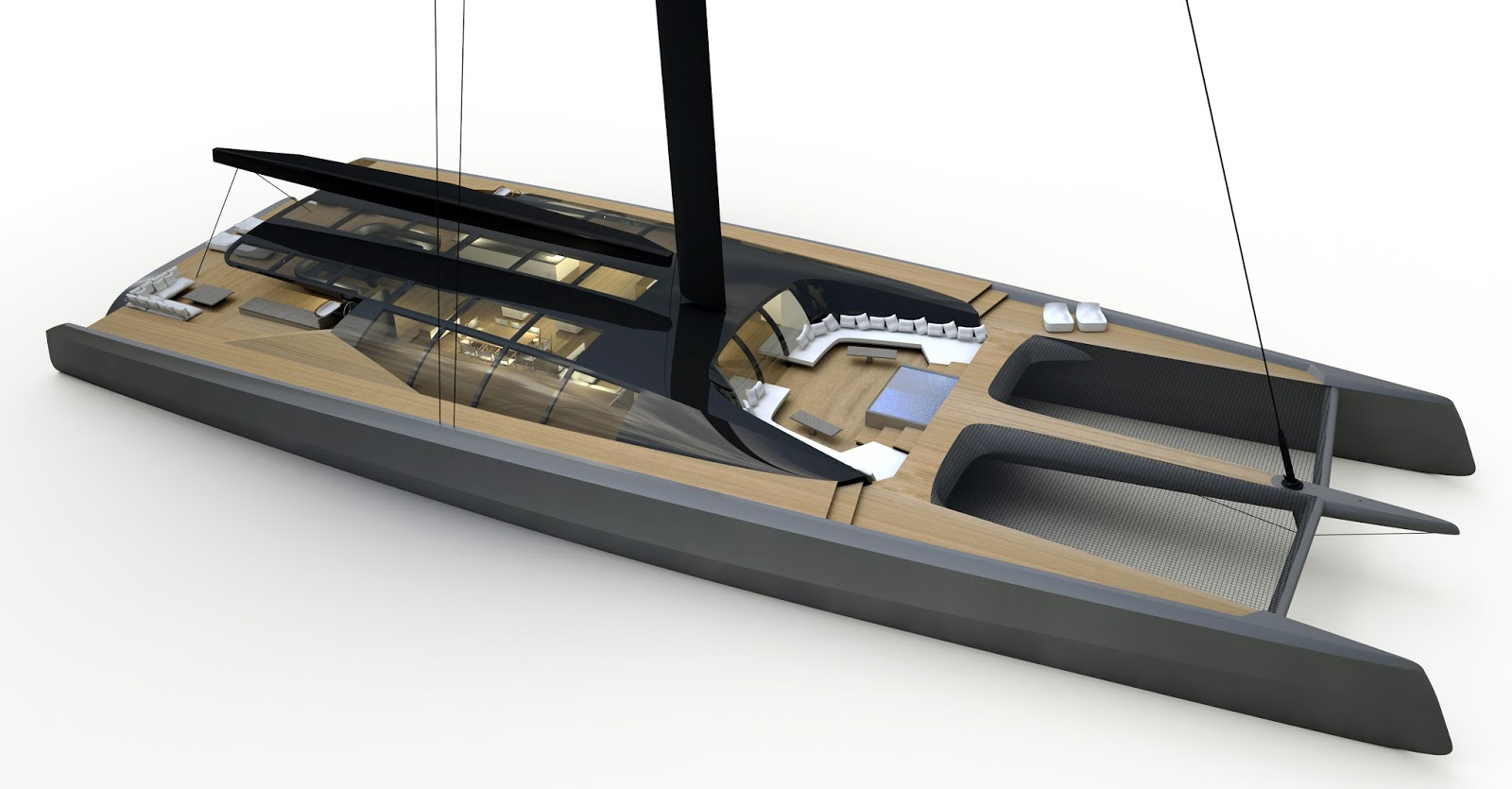 40 Meter To Feet Mitch Booth S 50mts Superyacht Project The Blackcat