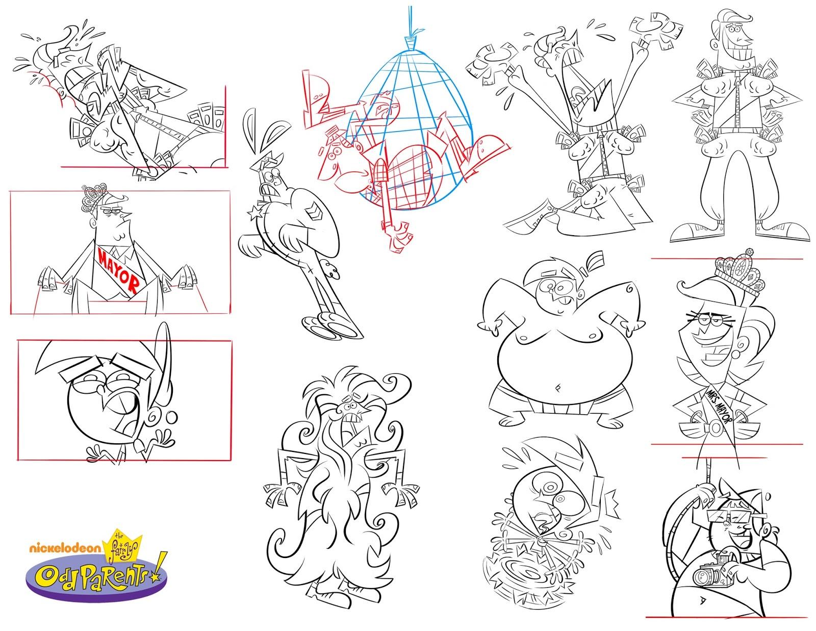 Character Design Nickelodeon :