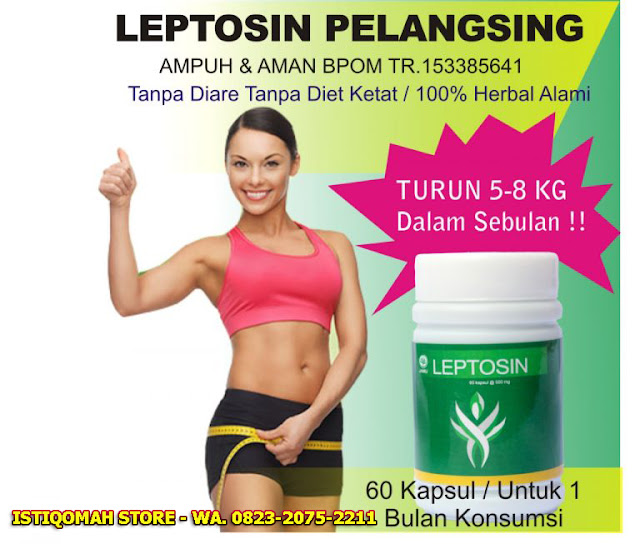 Leptosin Pelangsing Alami Efektif untuk Menurunkan Berat Badan