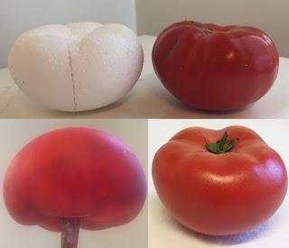 réplica de verduras, alimentos nutricionistas, alimentos para clases, verduras de plástico, replica de alimentos
