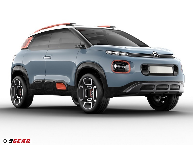 citroen c aircross concept compact suv by citro n car reviews new car pictures for 2018 2019. Black Bedroom Furniture Sets. Home Design Ideas