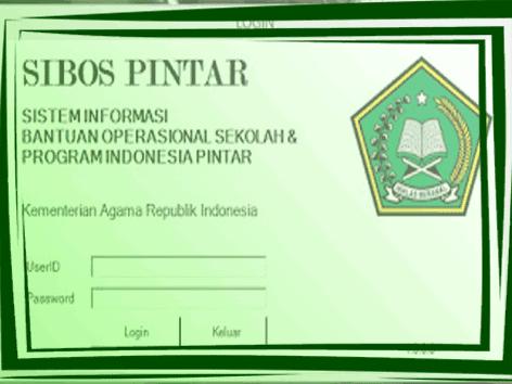 Donwload Alikasi SIBOS PINTAR Versi Terbaru dan Terupdate KEMENAG