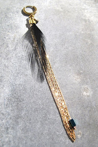 Boucle Vadi plume
