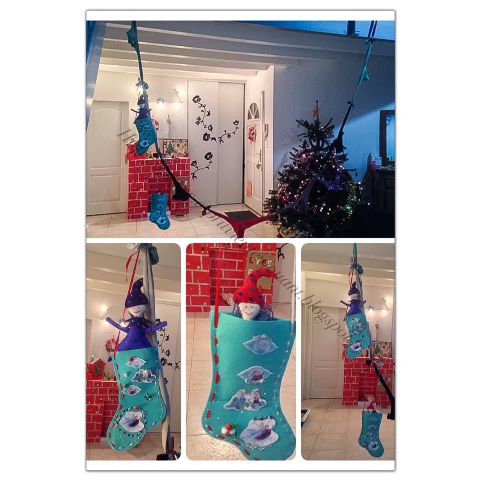 H Et S Decoration De Noel Lutin