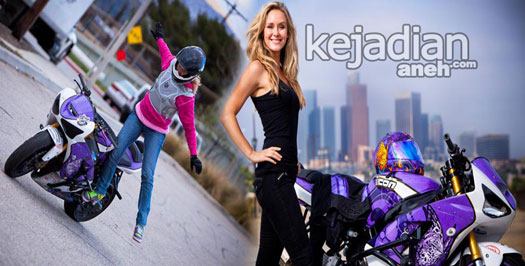 video freestyle Aksi Freestyle Lady Bikers Cantik Paling Ekstrim