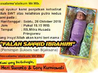 Desain Kartu Nama Buat Kelahiran Bayi Keren