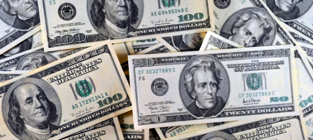 الدولار يحافظ على ارتفاعه مقابل الليرة مع نهاية اليوم الاحد 21/4/2019
