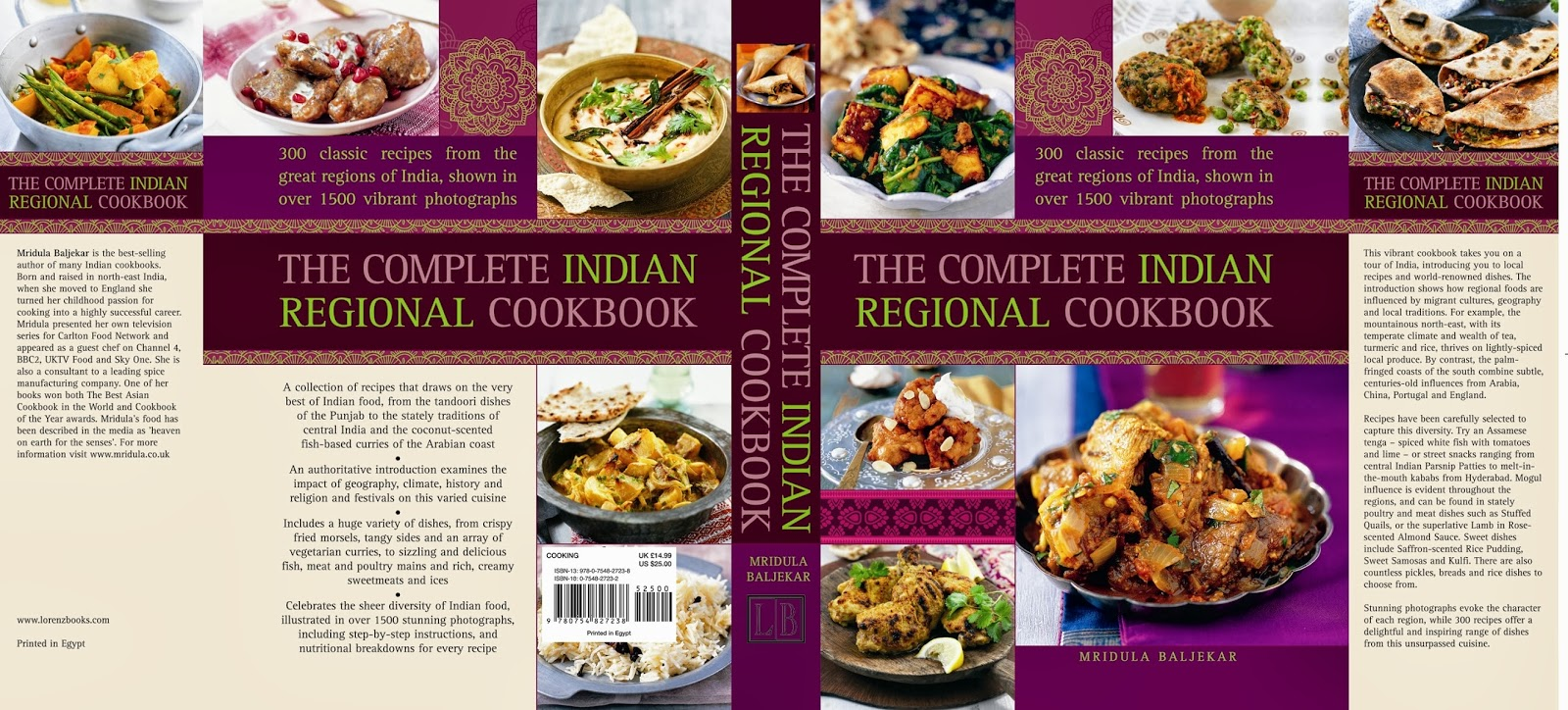 Thecompleteindianregonalcookbookg award winning cookbook author mridula baljekar releases her latest book the complete indian regional cookbook it is a compilation of wonderful recipes forumfinder Images