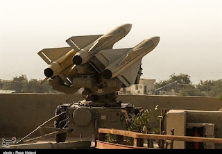 Iran reinforces air defense in western borders