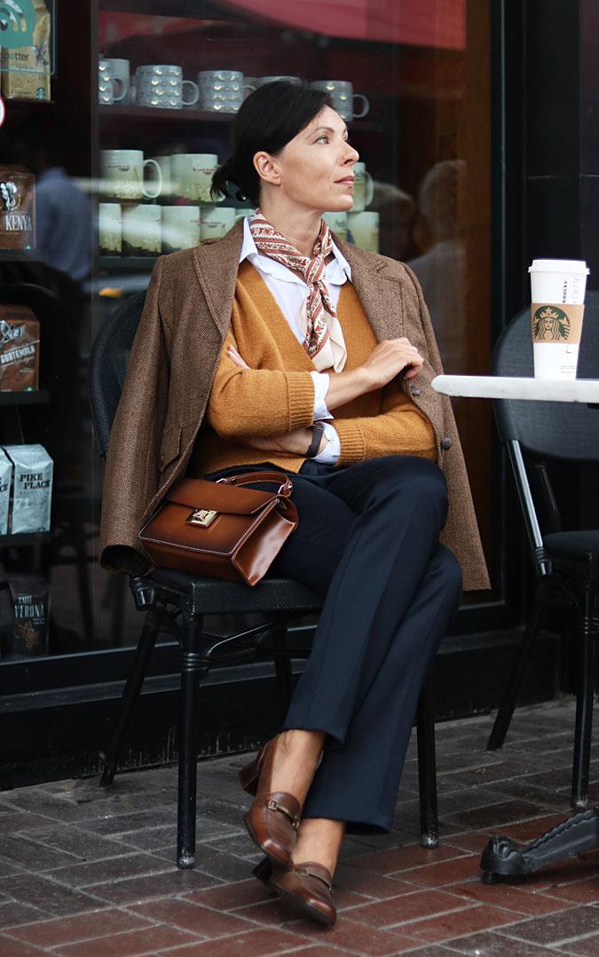 musztardowy sweterek stylizacje 2018