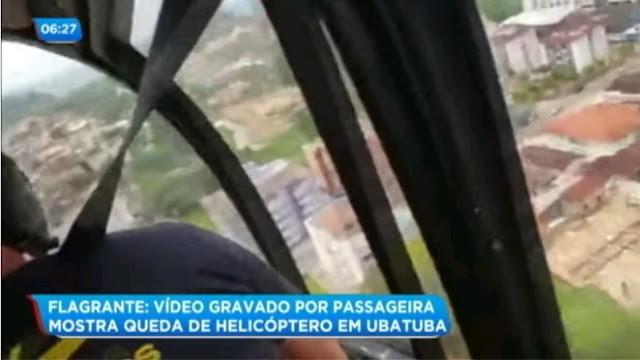 Αδιανόητο: Έπεσε ελικόπτερο - Σώθηκαν οι επιβαίνοντες -Σκοτώθηκε περαστικός (βίντεο)