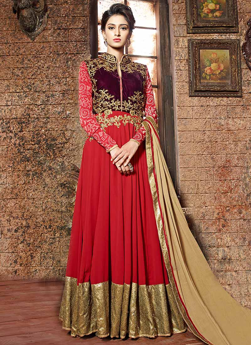 Latest New Indian Frock Designs For 2017-2018 ~ Change ...
