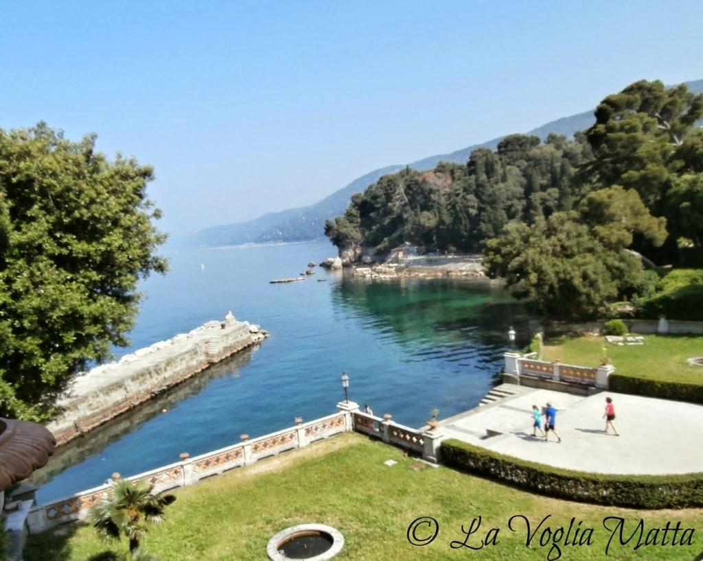 Castello di Miramare a Trieste giardini
