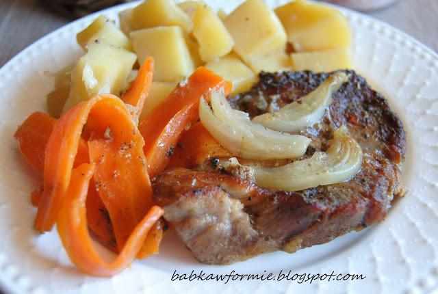 zapiekana karkówkapo flisacku babkawformie.blogspot.com