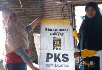 PKS Salatiga Bantu Korban Puting Beliung di Mrican