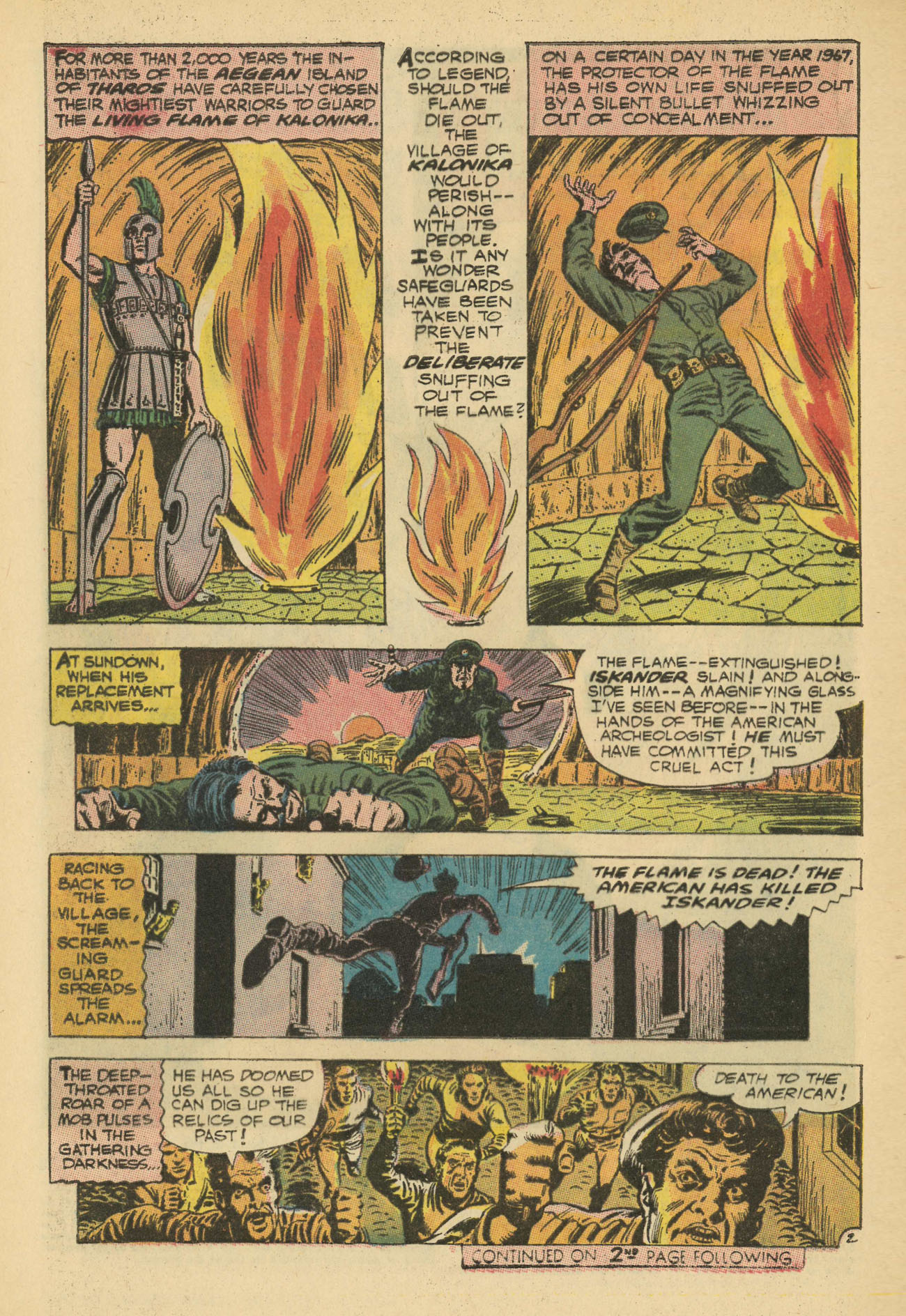 Hawkman (1964) issue 20 - Page 4
