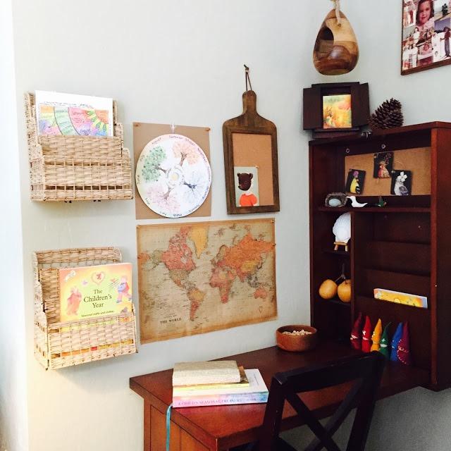 waldorf homeschool room
