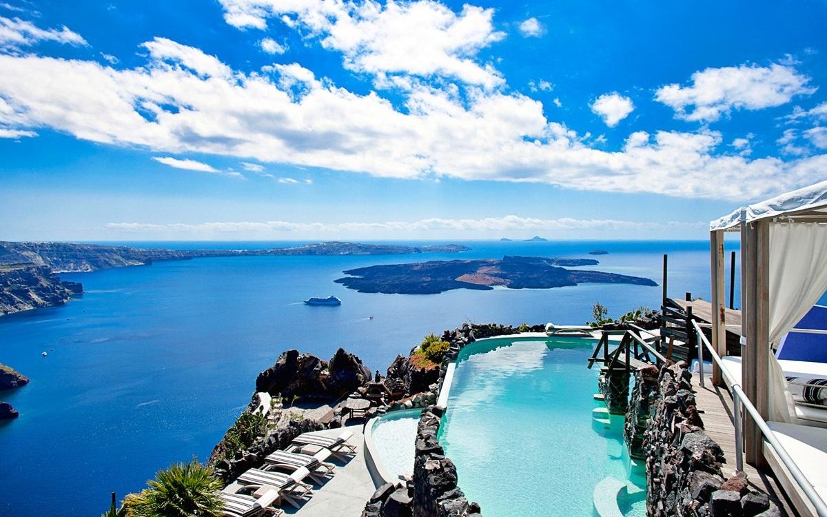 Honeymoon Destinations In Greece: Travel My Way: Greece, Santorini, Imerovigli, Honeymoon