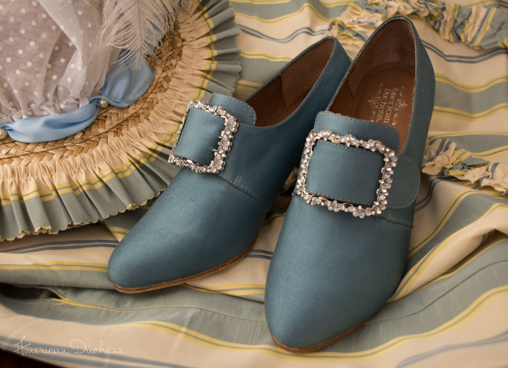 18th century shoes dyeable