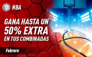 sportium NBA: En febrero Extra en Combinadas