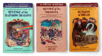 three endless quest books