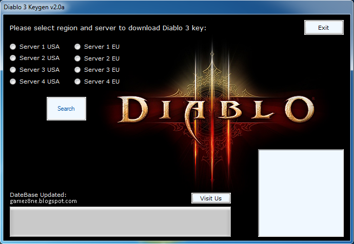 Diablo 3 Code CD Key Generator v3 ~ Hack World 2014 | Game Crack, Cheat Tool, Hack Genarator