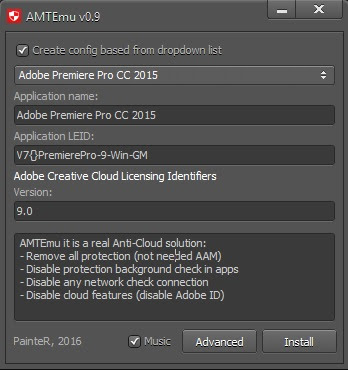AMT Emulator v0.9 by PainteR