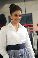 Rakul Preet Singh looks super cute in White Shirt and Skirt at Jaya Janaki Nayaka press meet 10.08.2017 022.JPG