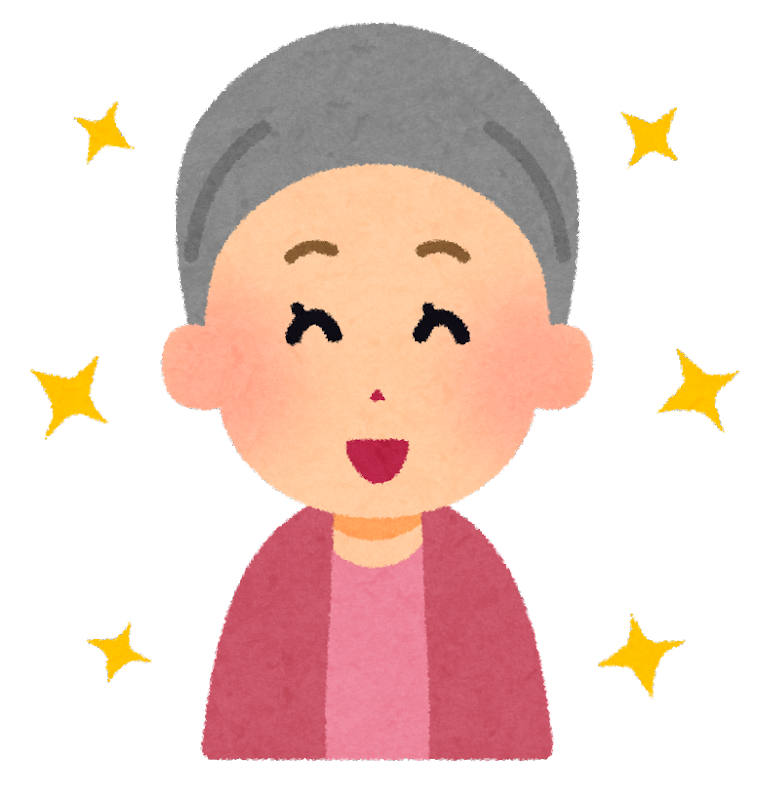 「患者 笑顔 イラスト」の画像検索結果