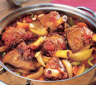 Restaurant Braised Lamb Shanks Recipe
