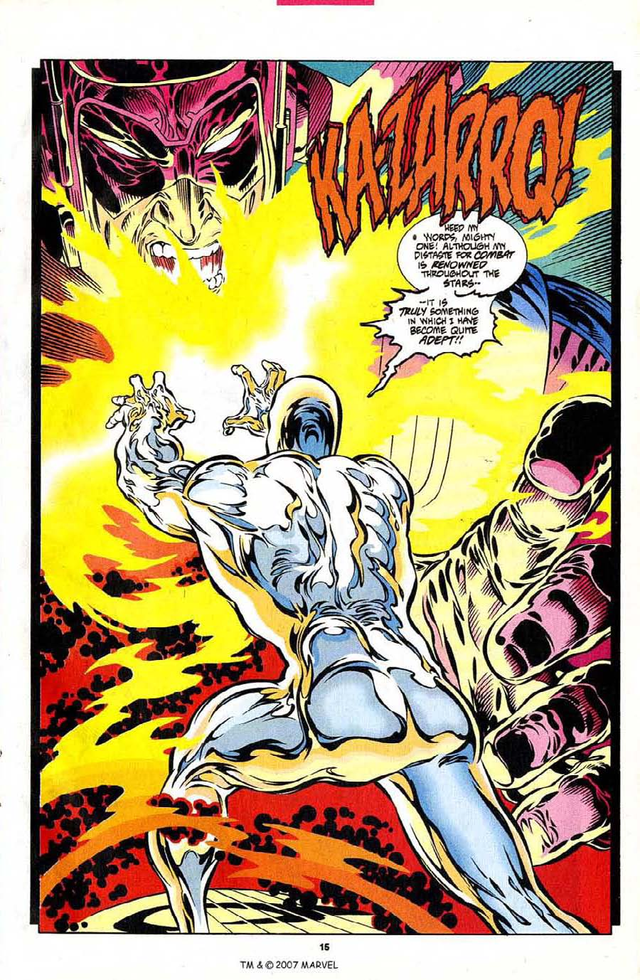 Read online Silver Surfer (1987) comic -  Issue #102 - 17
