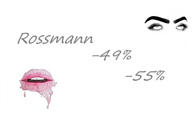 Rossmann -49% / -55%. Październik 2017