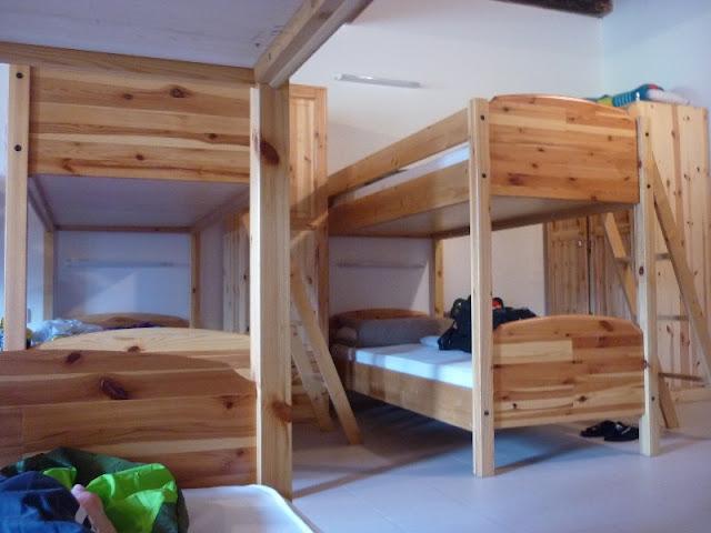 dormire in rifugio casa alpina kugy
