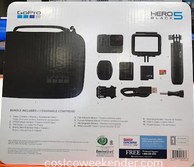 Costco 7150005 - GoPro Hero5 Black Camera Bundle: great for photographers and weekend warriors alike
