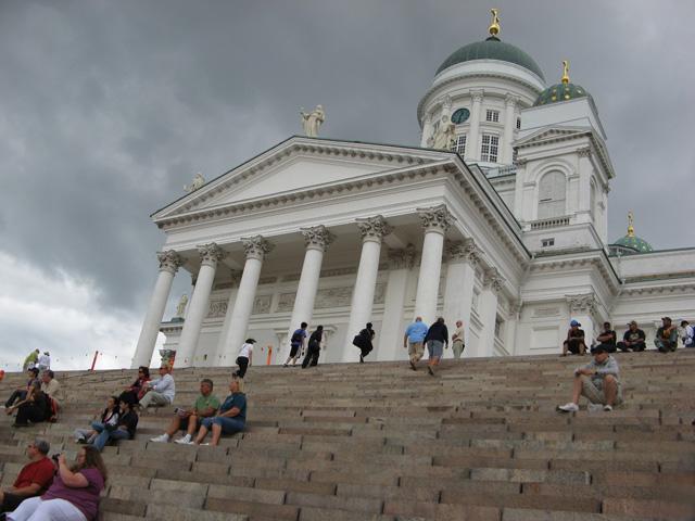 La Catedral de Helsinki, en la Plaza del Senado