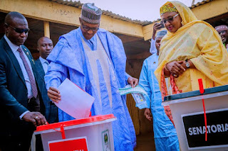 Buhari Floors Atiku In His Unit; Accord Party Wins The Senatorial Election In Buhari's Unit