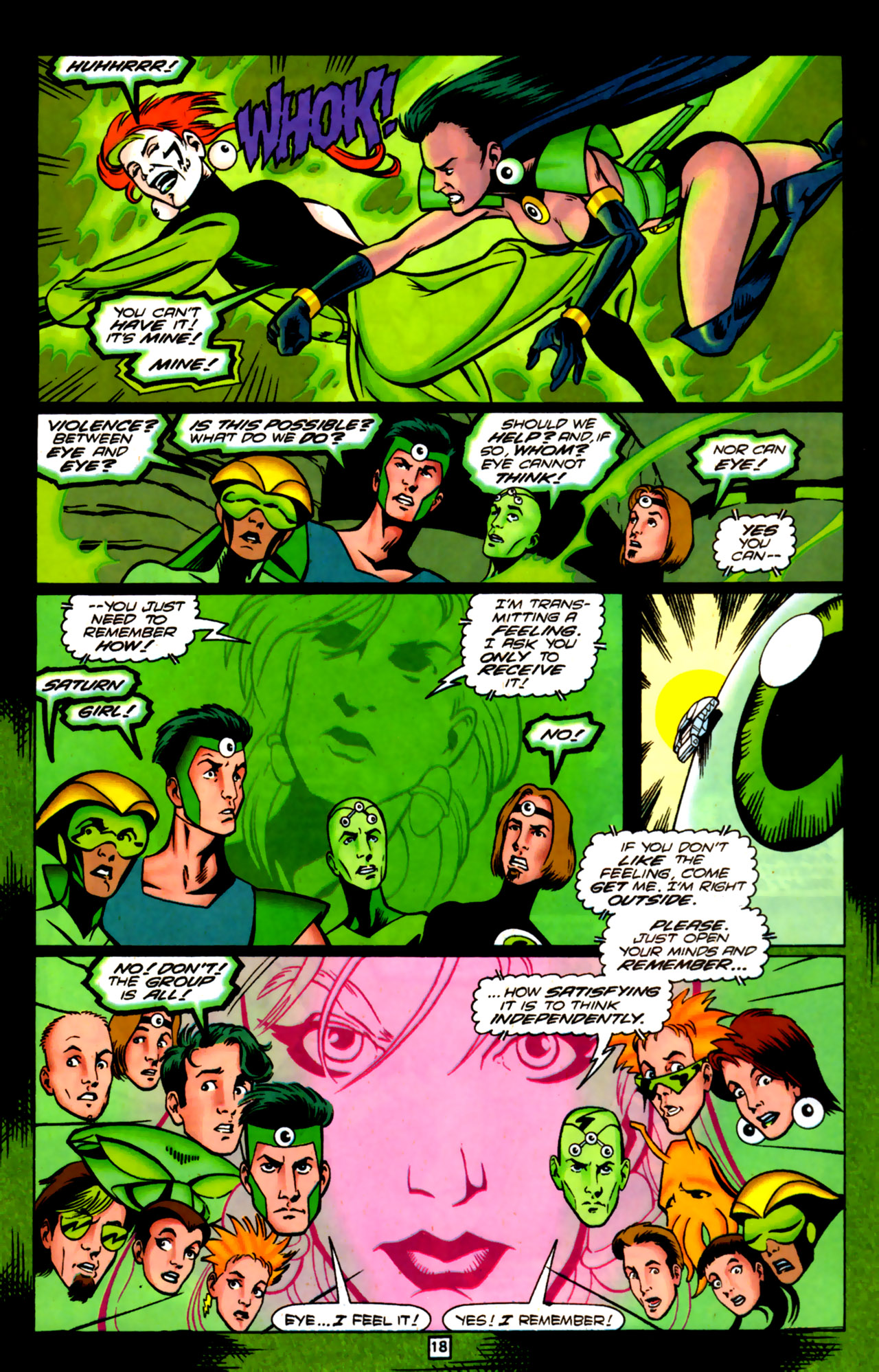 Legion of Super-Heroes (1989) 84 Page 16