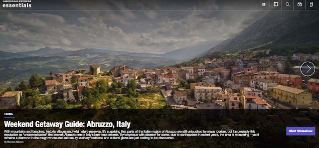 American Express Essentials Weekend Getaway Guide: Abruzzo, Italy
