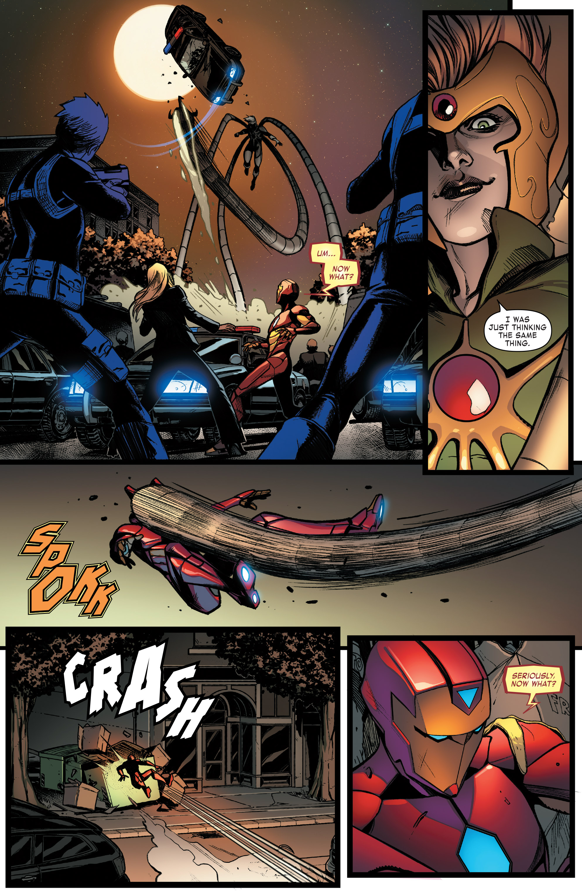 Read online Invincible Iron Man (2016) comic -  Issue #8 - 12