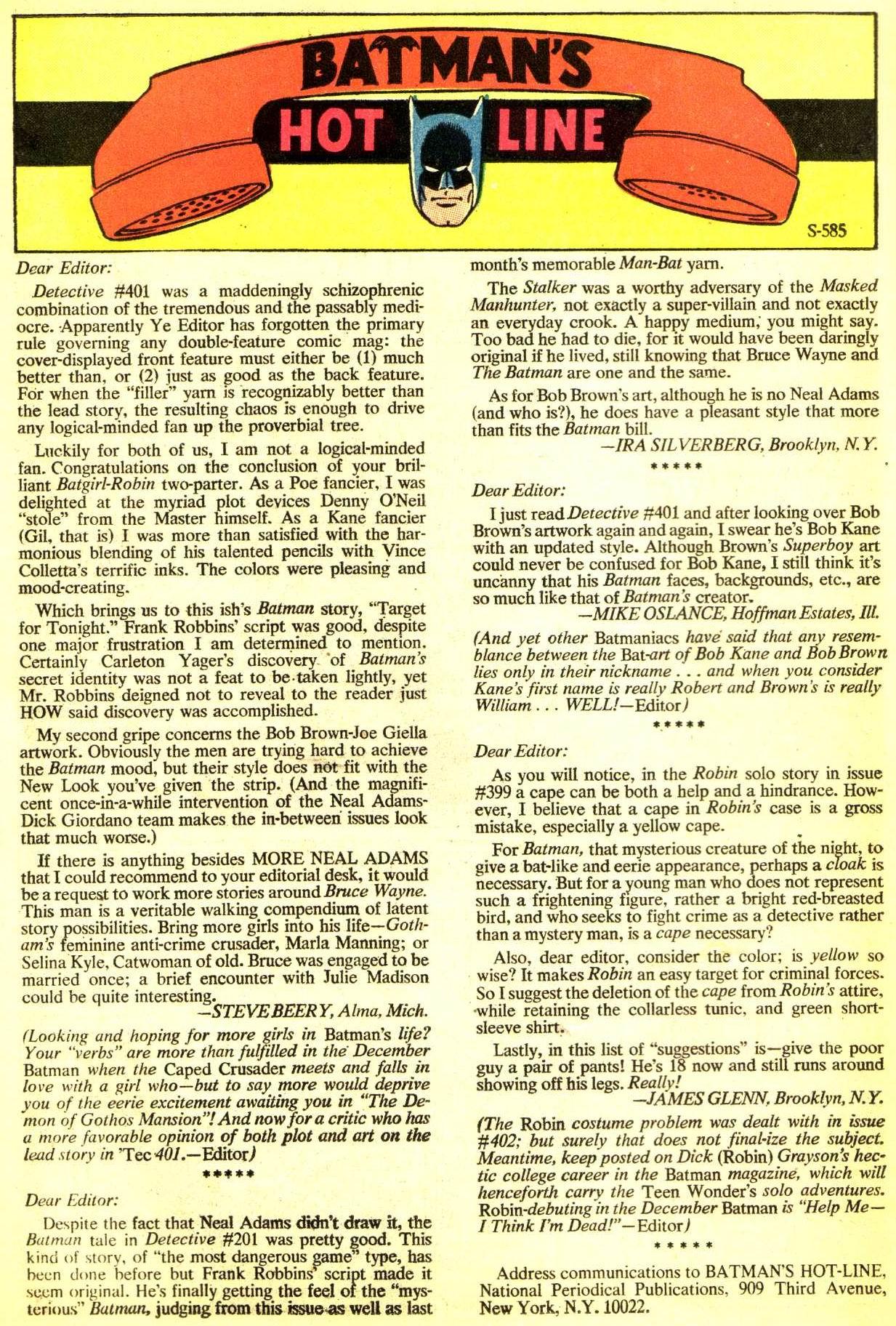Detective Comics (1937) 405 Page 25
