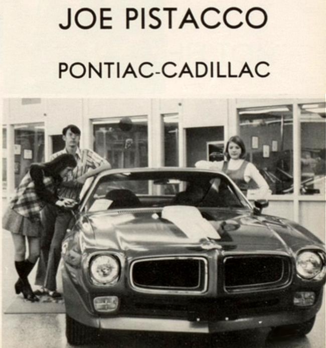 Annualmobiles: Joe Pistacco Pontiac Cadillac