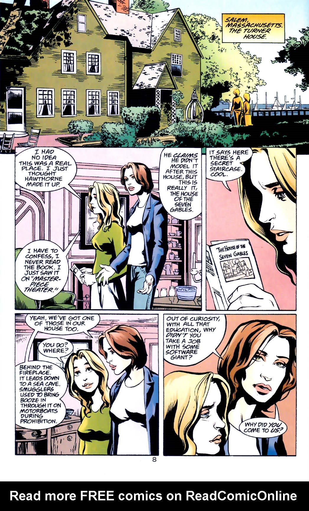 Read online Midnight, Mass comic -  Issue #7 - 9