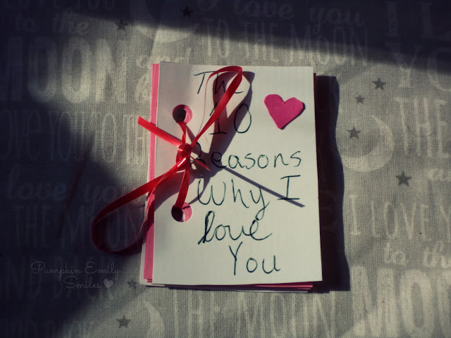 10 Reasons Why I Love You Book